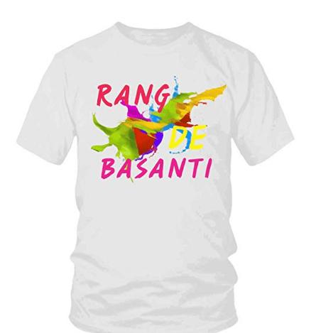 Polyester T-shirt Holi Printed Unisex T-shirt